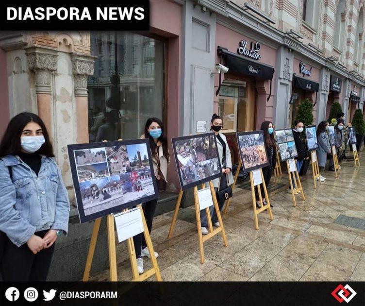 diasporarm-diaspora-news-armenian-community-of-georgia-organizes-armenian-genocide-exhibition-on-freedom-square-tbilisi